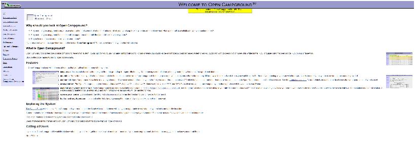 OPENCAMPGROUND.COM