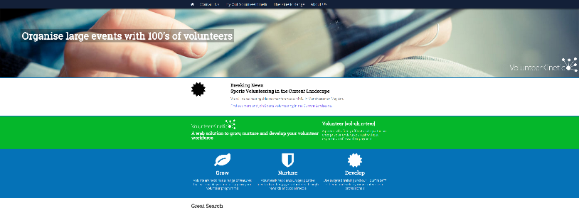 VOLUNTEERKINETIC.COM