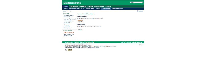 Citizens Bank Online