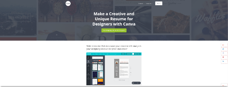 best free online resume builder services