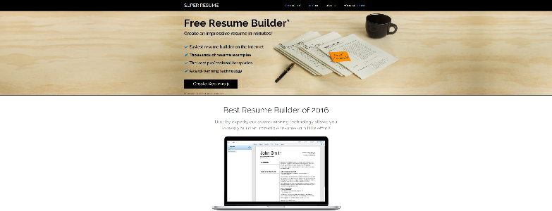 super resumecom - Best Resume Builder Online
