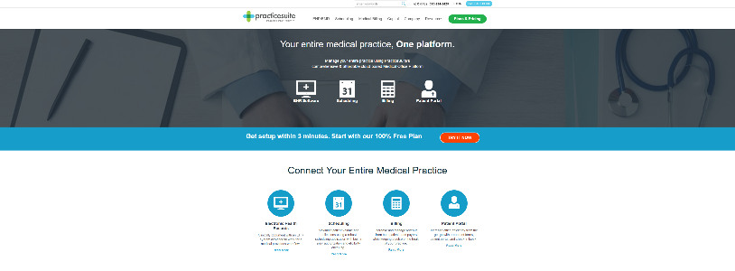 healthcare practice management software