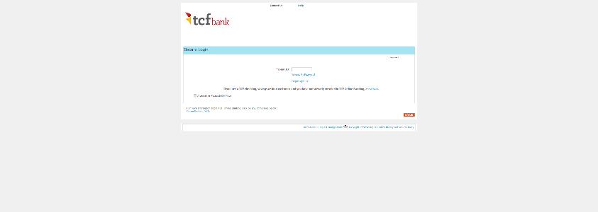 Tcf Online Banking