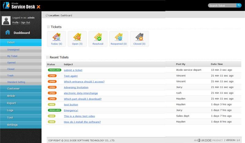 Best Open Source Ticket Management System