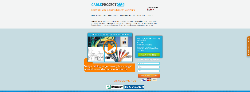 Best network diagram software 2018 1 smb reviews cableproject ccuart Image collections