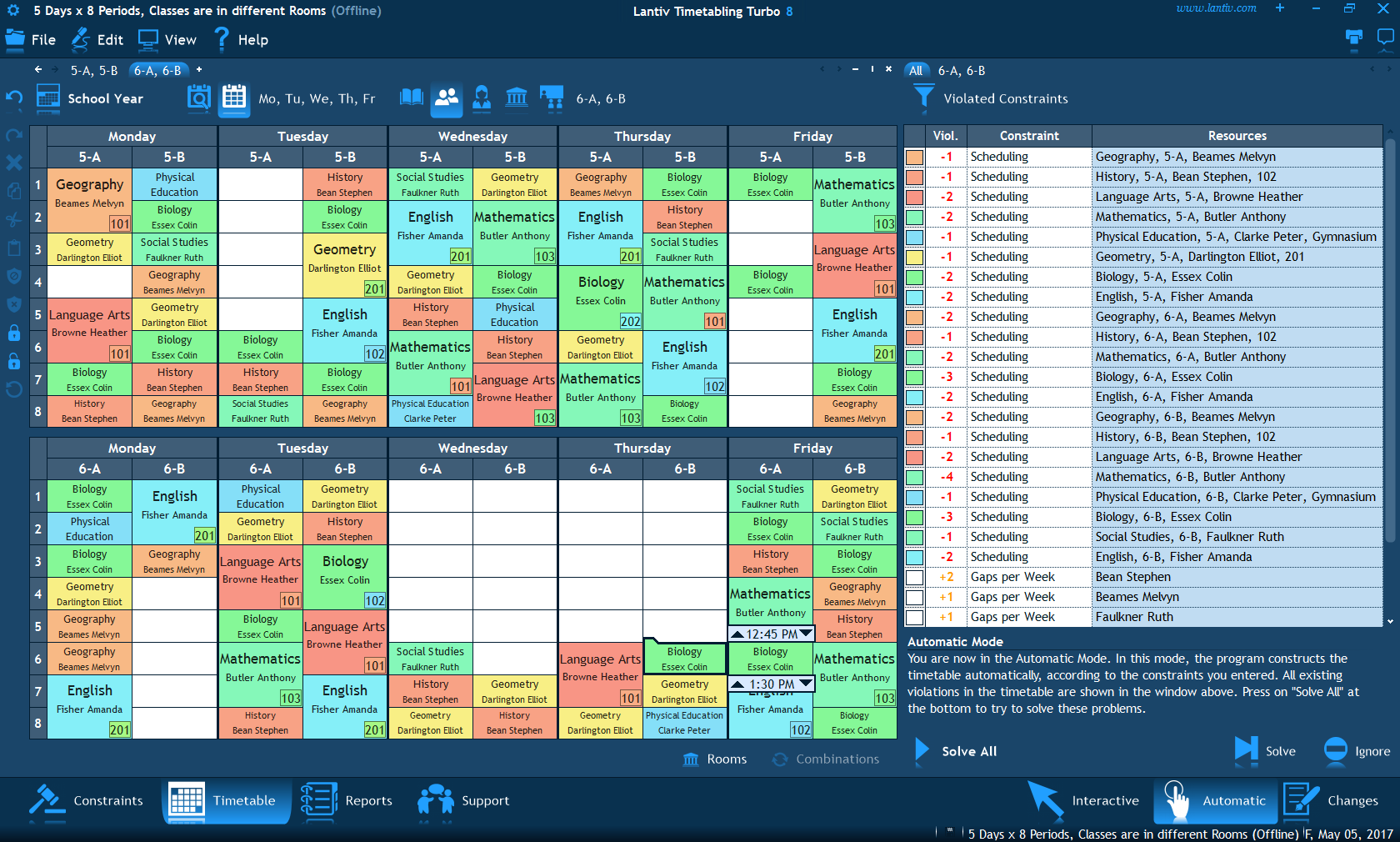 Best Time Table Management Software 2018 1 Smb Reviews