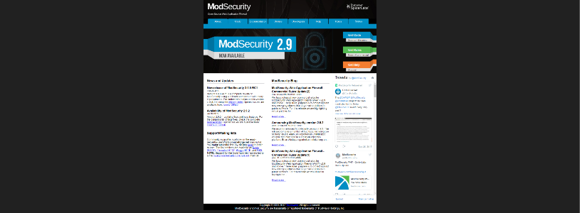 MODSECURITY Web Application Firewall