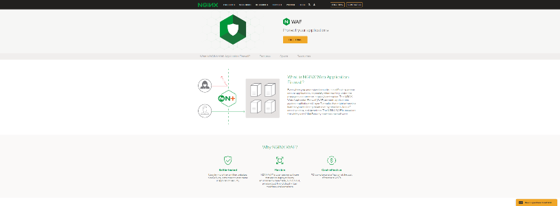 NGINX Web Application Firewall