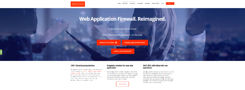ZENEDGE Web Application Firewall