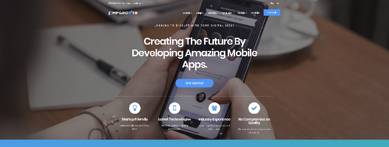 JumpGrowth Mobile Application Development Company