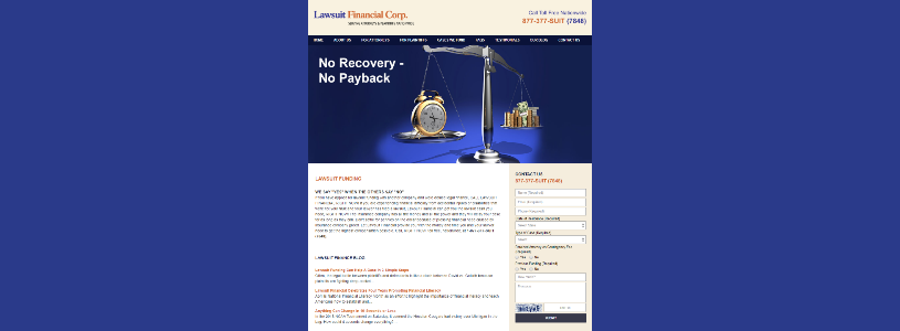 LAWSUITFINANCIAL