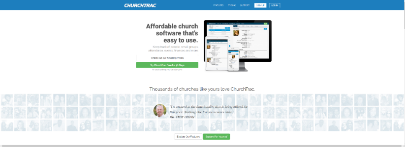 CHURCHTRAC